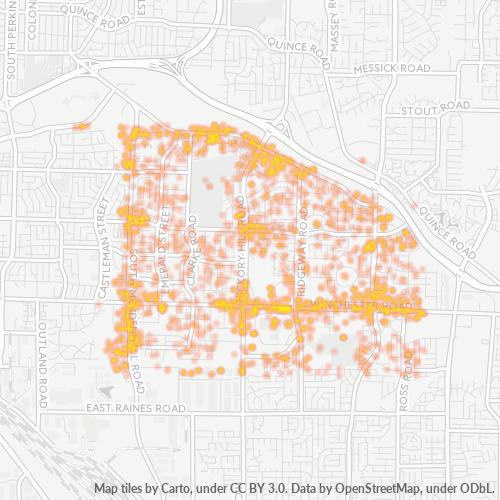 38115 Business Density Heatmap