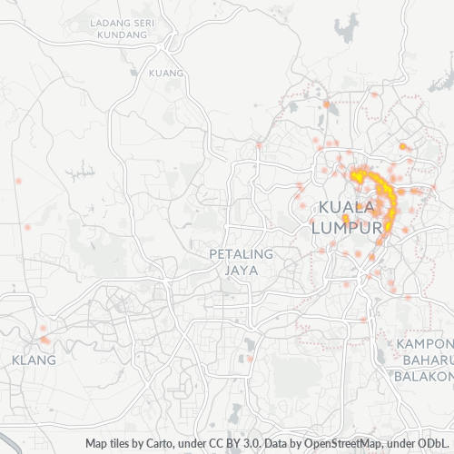 50400 Business Density Heatmap
