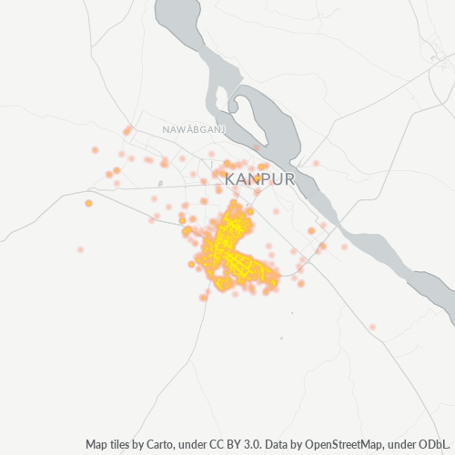 208011 Business Density Heatmap