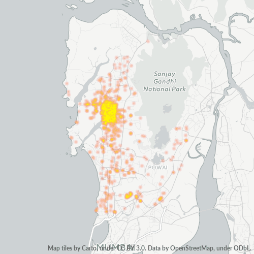 400064 Business Density Heatmap