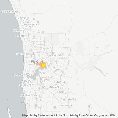 6004 Business Density Heatmap