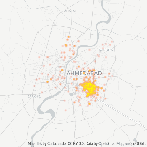 380026 Business Density Heatmap