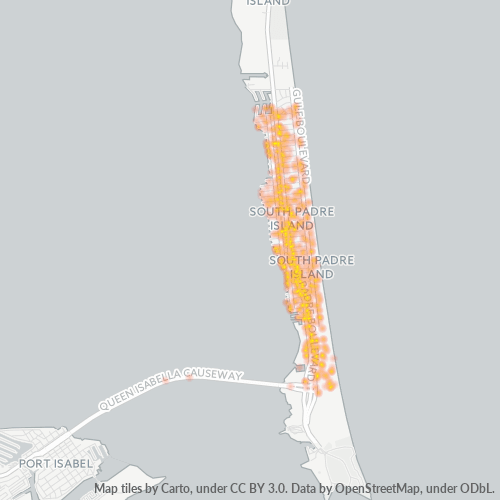 78597 Business Density Heatmap