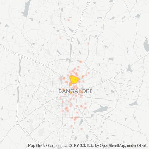 560046 Business Density Heatmap