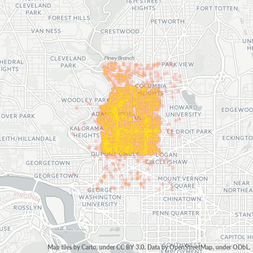 20009 Business Density Heatmap