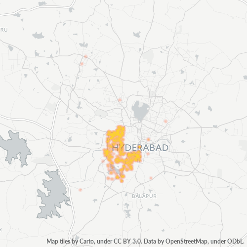 500264 Business Density Heatmap