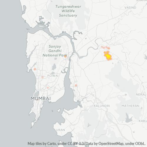 421005 Business Density Heatmap