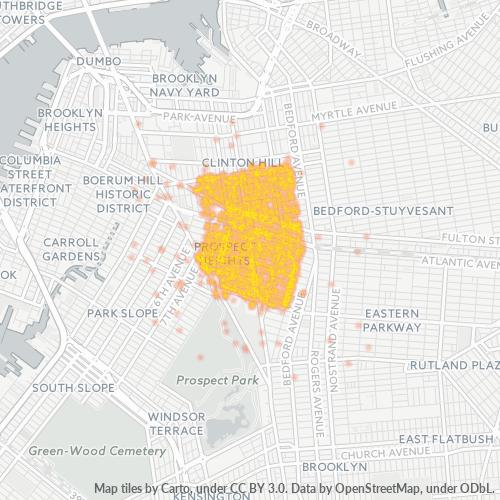 11238 Business Density Heatmap