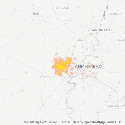 380058 Business Density Heatmap