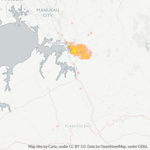 2110 Business Density Heatmap