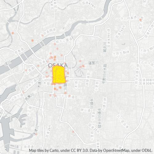 541 事業密度ヒートマップ