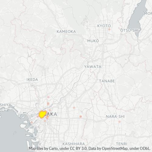 553 事業密度ヒートマップ