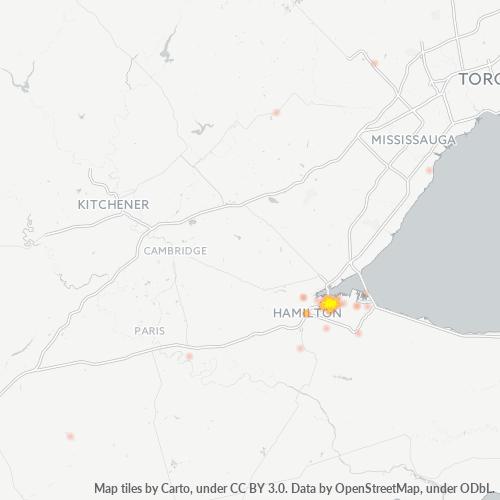 L8P Business Density Heatmap
