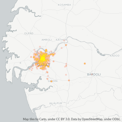 395003 Business Density Heatmap