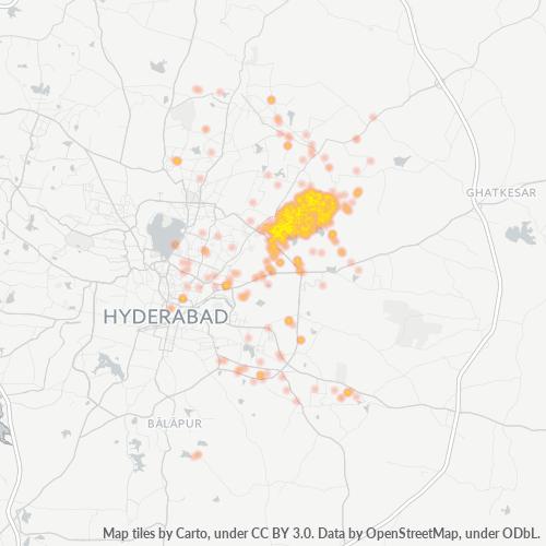 500076 Business Density Heatmap