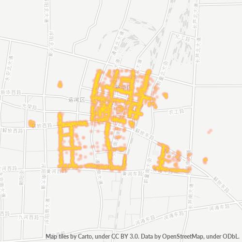 061000 企业密度热图