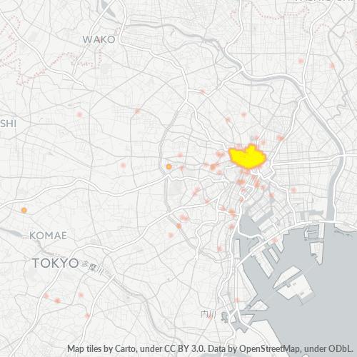 101 事業密度ヒートマップ