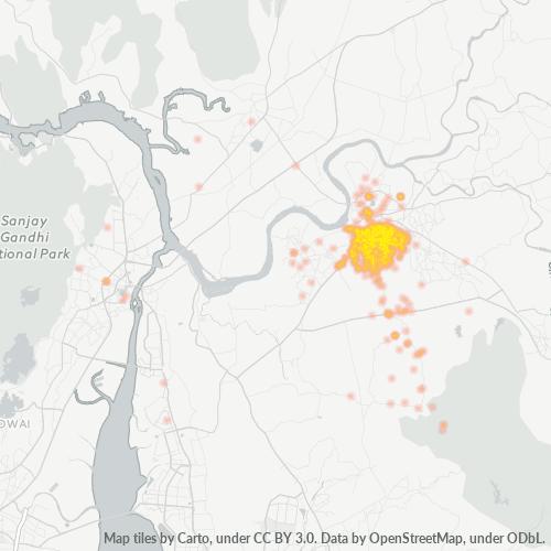 421306 Business Density Heatmap