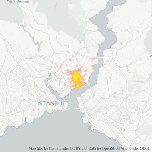 34349 Şirket Yoğunluğu Isı Haritası