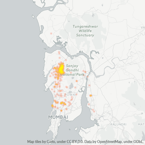 400066 Business Density Heatmap