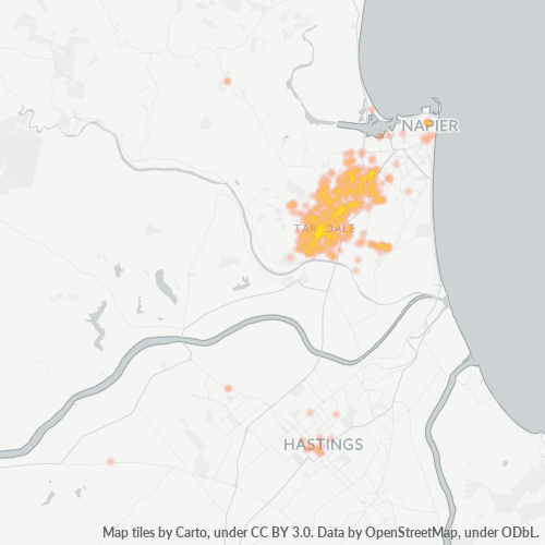 4112 Business Density Heatmap