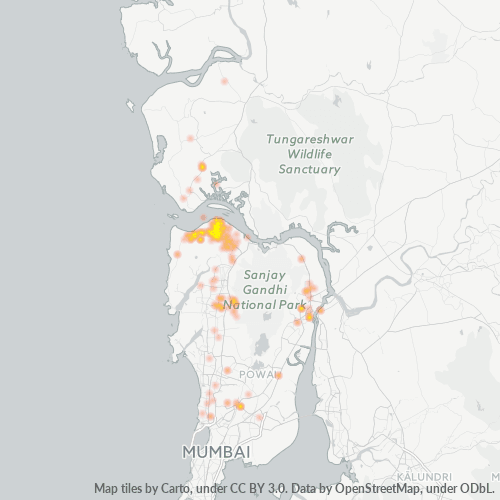 401101 Business Density Heatmap
