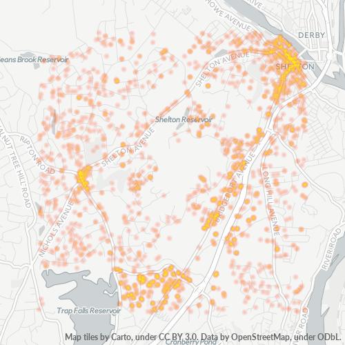 06484 Business Density Heatmap