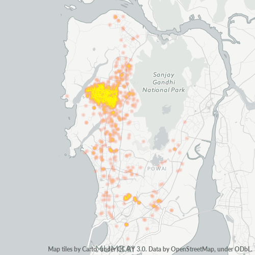 400067 Business Density Heatmap