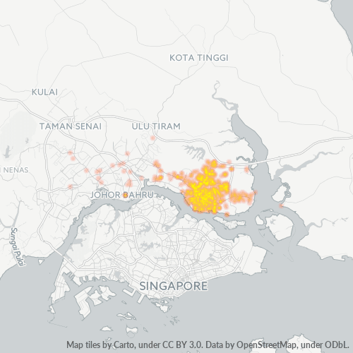 81700 Business Density Heatmap