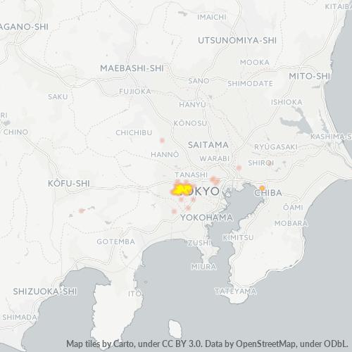 206 事業密度ヒートマップ