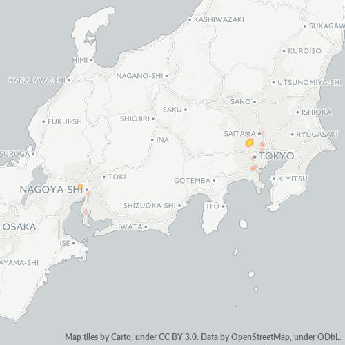204 事業密度ヒートマップ