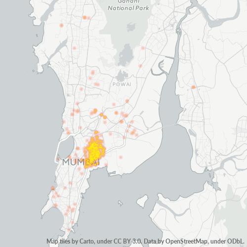 400037 Business Density Heatmap