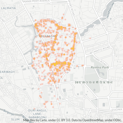 1205 Business Density Heatmap