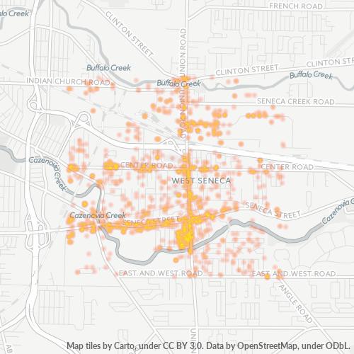 14224 Business Density Heatmap