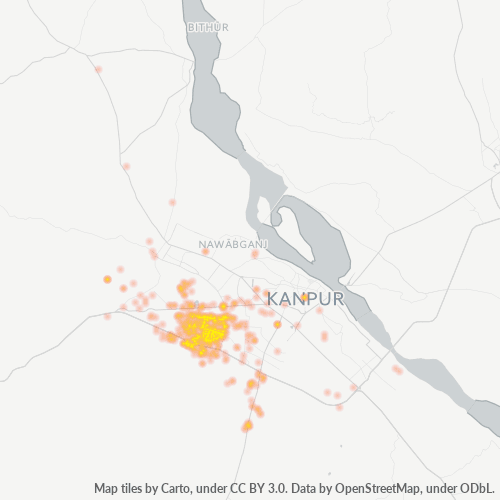 208022 Business Density Heatmap