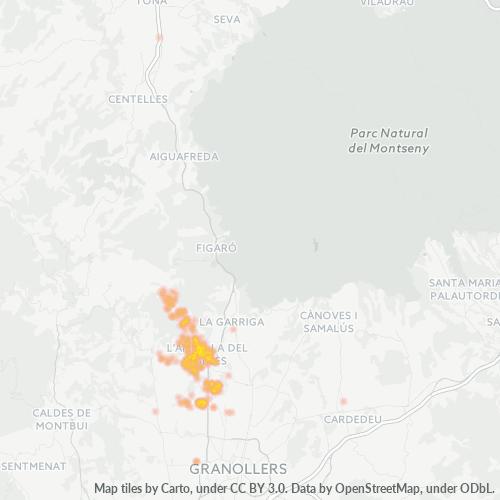 08480 Mapa de calor de densidad empresarial