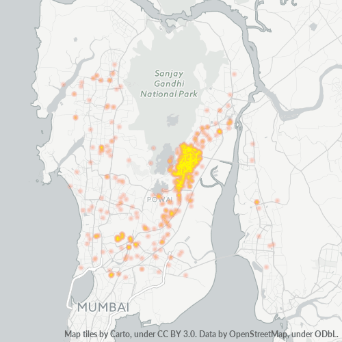 400078 Business Density Heatmap