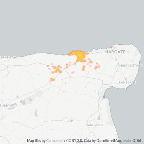 CT7 Business Density Heatmap