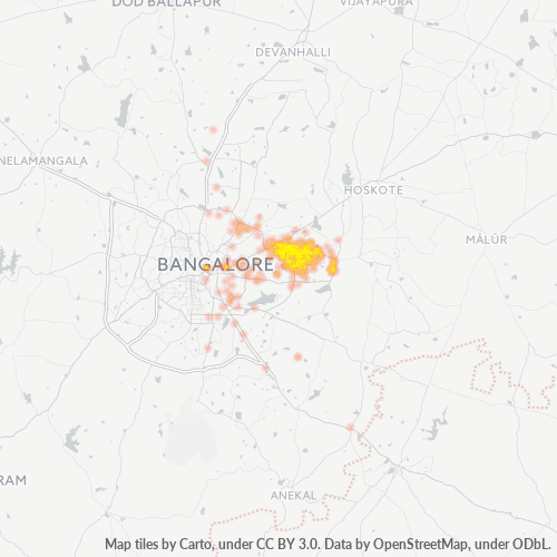 560048 Business Density Heatmap