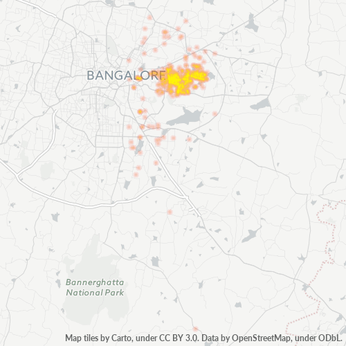 560075 Business Density Heatmap