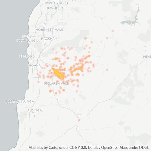 5171 Business Density Heatmap