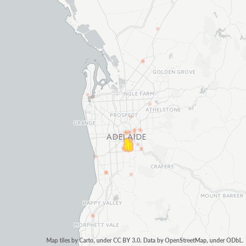 5061 Business Density Heatmap
