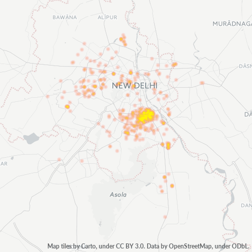 110065 Business Density Heatmap