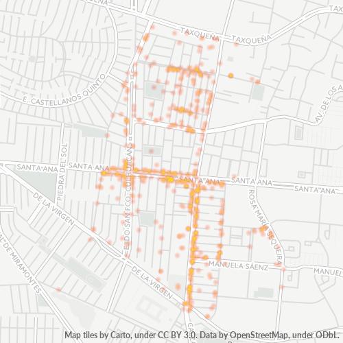 04470 Mapa de calor de densidad empresarial