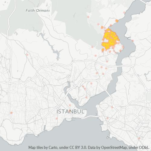 34457 Şirket Yoğunluğu Isı Haritası