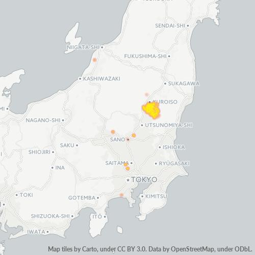 324 事業密度ヒートマップ