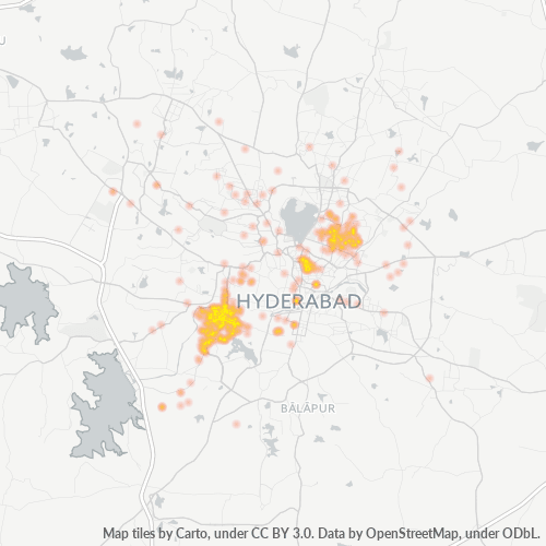 500048 Business Density Heatmap