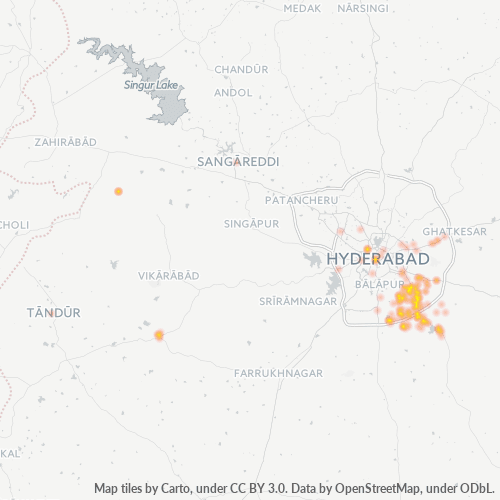 501510 Business Density Heatmap