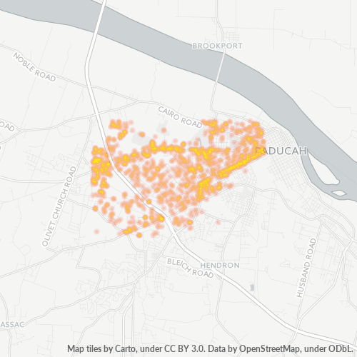 42001 Business Density Heatmap