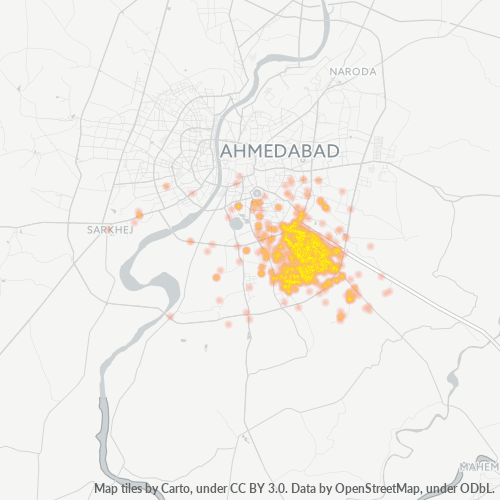 382445 Business Density Heatmap